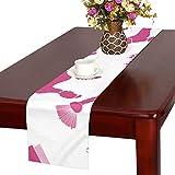 GGSXD テーブルランナー すばしこい プードル クロス 食卓カバー 麻綿製 欧米 おしゃれ 16 Inch X 72 Inch (40cm X 182cm) キッチン ダイニング ホーム デコレーション モダン リビング 洗える
