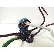 【 いろんなフィギュアにからませよう! 】 1/8 本格的 触手 陰獣 繁殖態 蓄光 ( ブルー ) Ver.