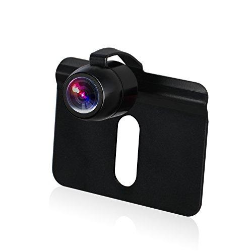 バックカメラ 170°広角 BOSCAM B2 車載リアカメラ IP67防水 ガイドライン有・無切替 穴開けなく