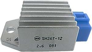 DB Electrical Ghi6007 Voltage Regulator for Yamaha G8 G9 G14 G16 G20 Golf Cart 91 92 93 94 95 96 97 98 99 00 01 02 03 04 05 06 07 08 09 10 11 12 13 [並行輸入品]