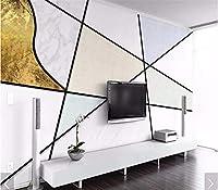 Weaeo 3D幾何学的な抽象的な壁画壁画壁画の壁画の壁画のHdの壁画印刷壁紙ロールカスタムサイズ-120X100Cm