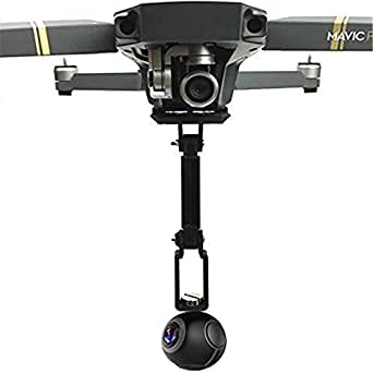 Bestmaple DJI Mavicドローン360 VR度パノラマカメラジンバル三脚ヘッドHangingホルダースタビライザーブレスレットキット