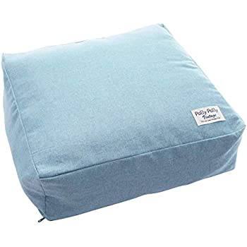 PG99209598B 140X25X25cm (Nishikawa) 布団収納袋 洗える セブンデイズ 西川 綿100% 抱き枕型 掛け布団を収納 ブルー