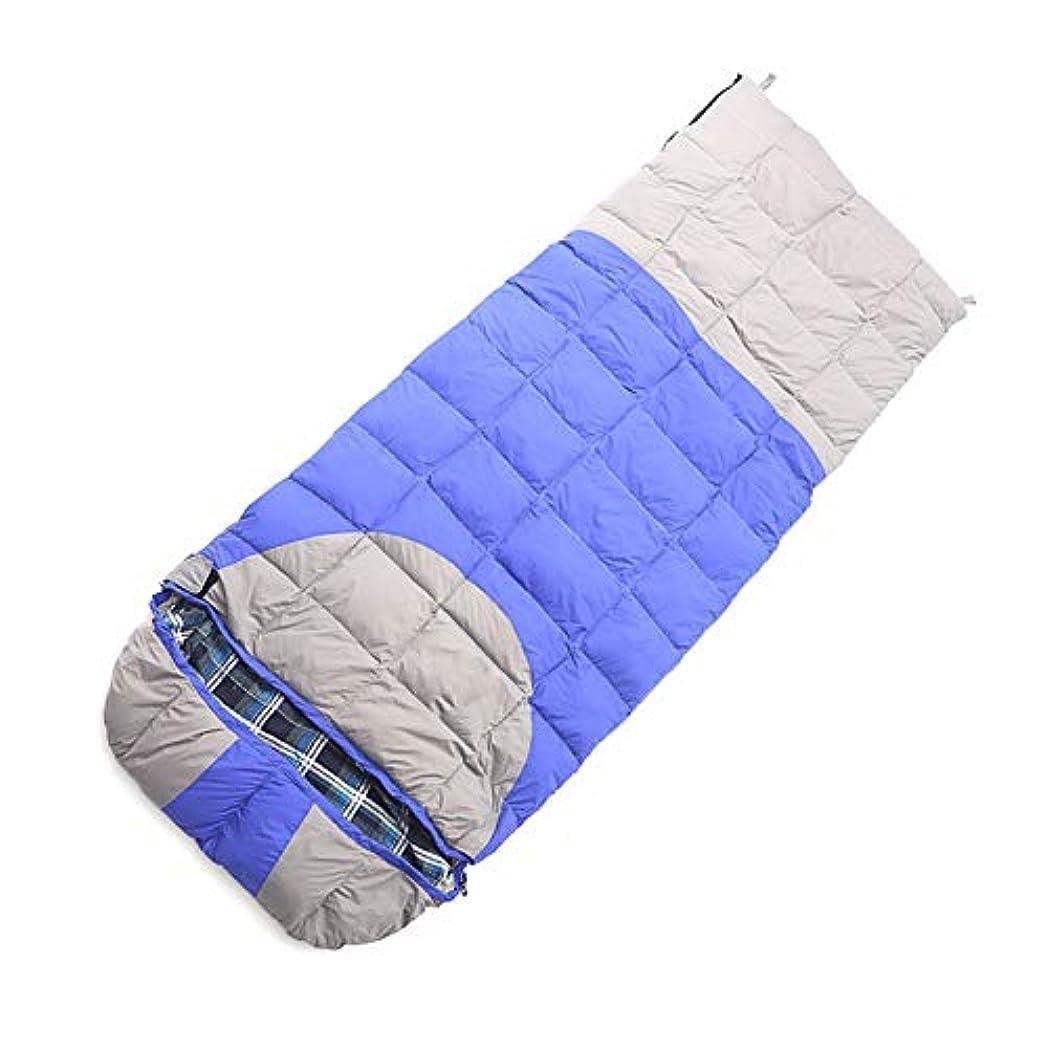 蜜ブースト放棄するスリーピングバッグ、防水軽量睡眠バッグ大人暖かい封筒寝袋キャンプハイキングスリーピングパッド