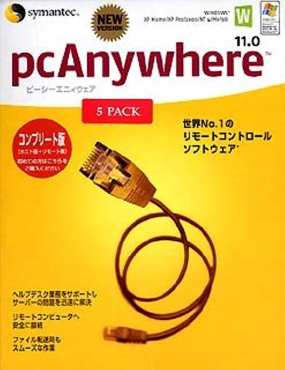 ピット標高平衡【旧商品】pcAnywhere 11.0 Complete 日本語版 5LicensePa