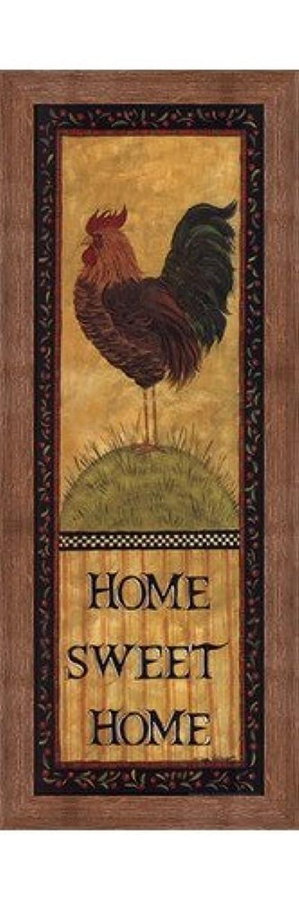 地質学しおれた弾薬Home Sweet Home by Lisa Hilliker – 10 x 30インチ – アートプリントポスター LE_479944-F10570-10x30
