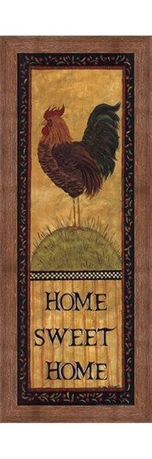 死ぬ防腐剤バドミントンHome Sweet Home by Lisa Hilliker – 10 x 30インチ – アートプリントポスター LE_479944-F10570-10x30