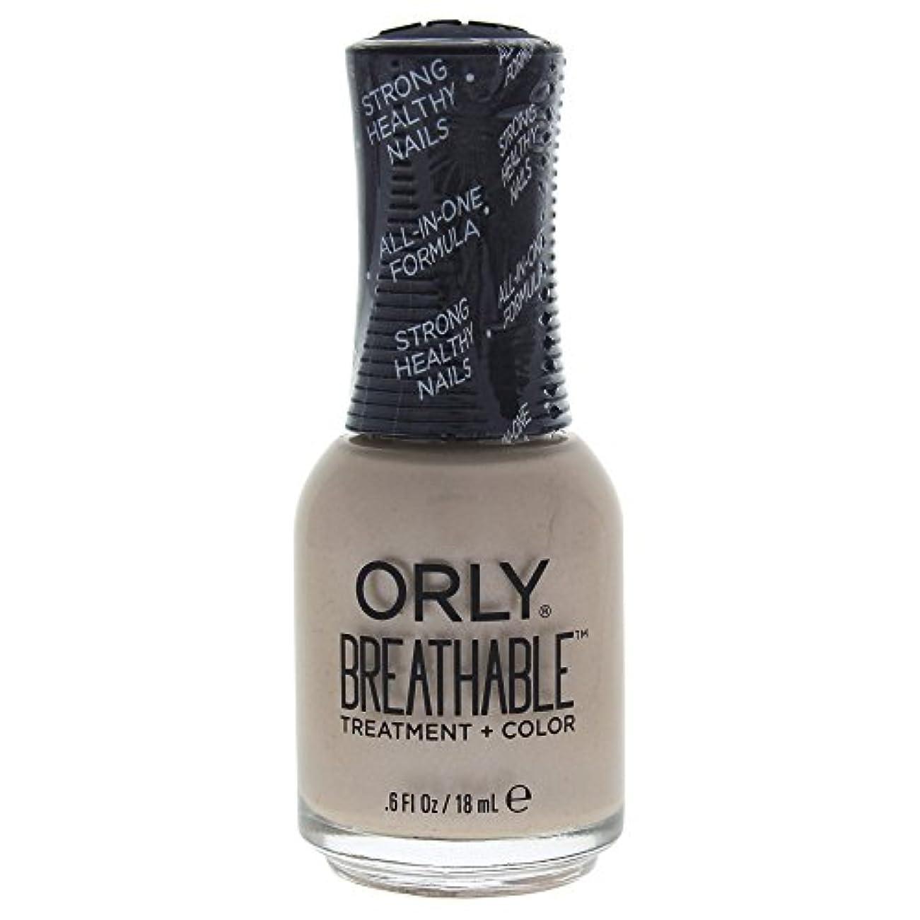 地平線報酬私達Orly Breathable Treatment + Color Nail Lacquer - Heaven Sent - 0.6oz / 18ml