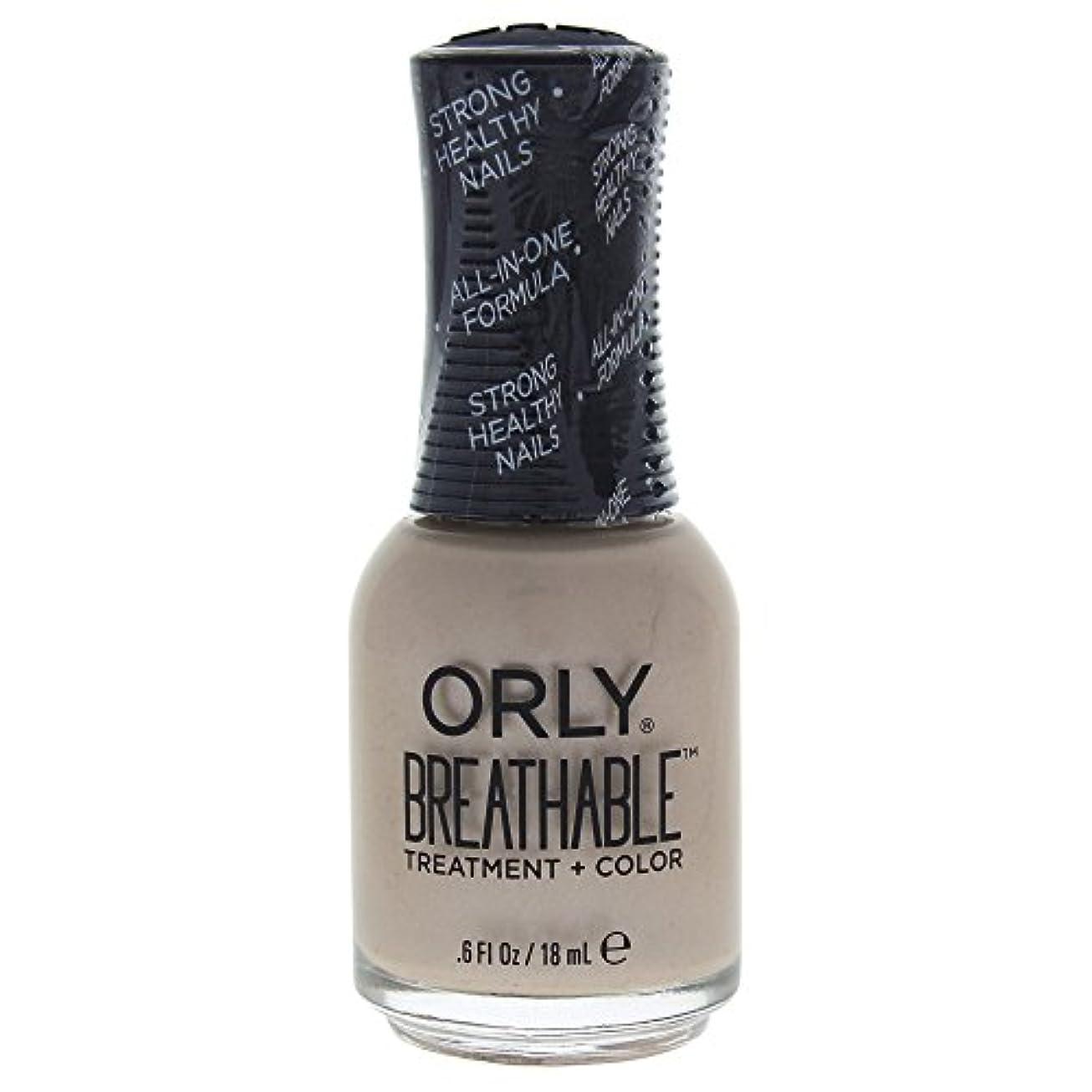 不道徳基本的なビクターOrly Breathable Treatment + Color Nail Lacquer - Heaven Sent - 0.6oz / 18ml