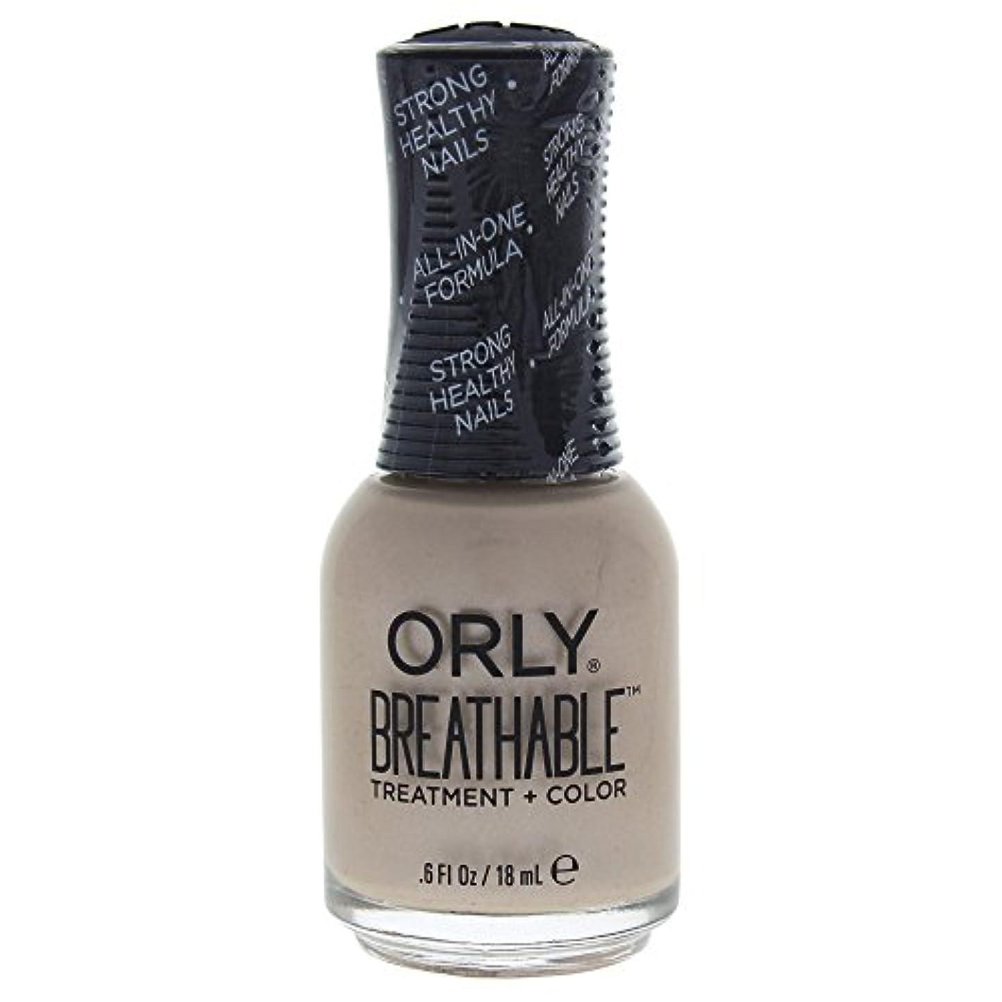 ブルインク優遇Orly Breathable Treatment + Color Nail Lacquer - Heaven Sent - 0.6oz / 18ml