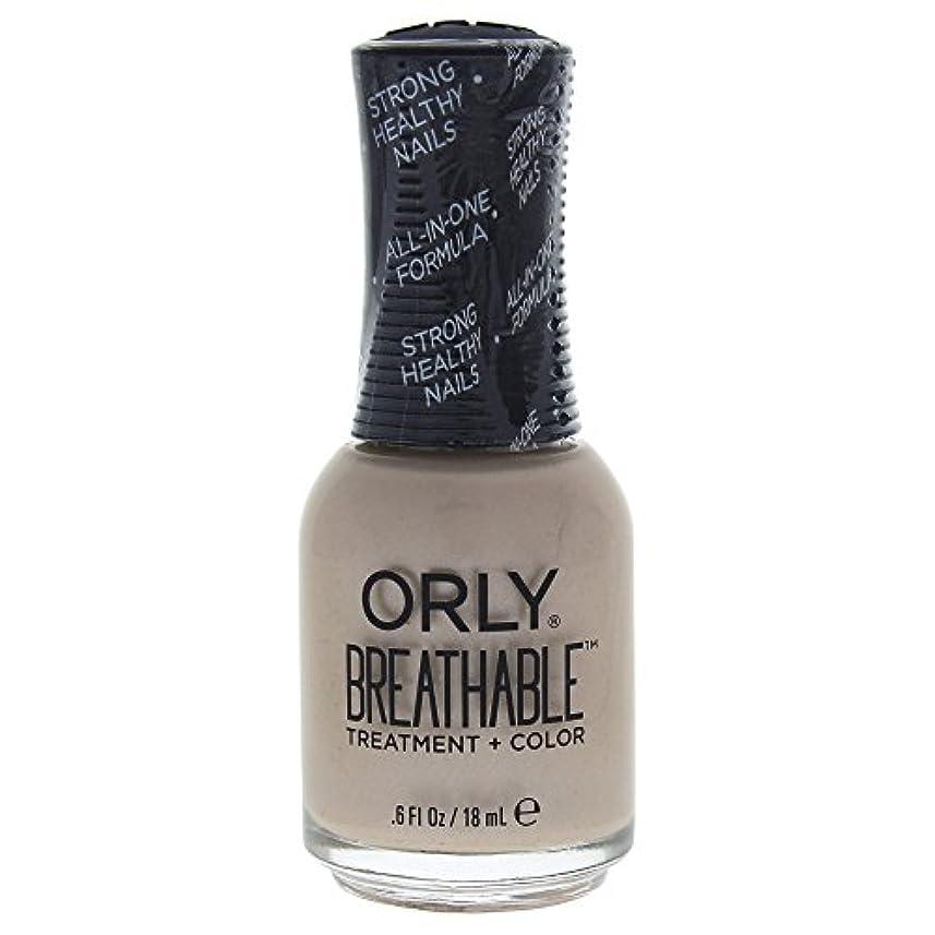 君主日没ドライバOrly Breathable Treatment + Color Nail Lacquer - Heaven Sent - 0.6oz / 18ml