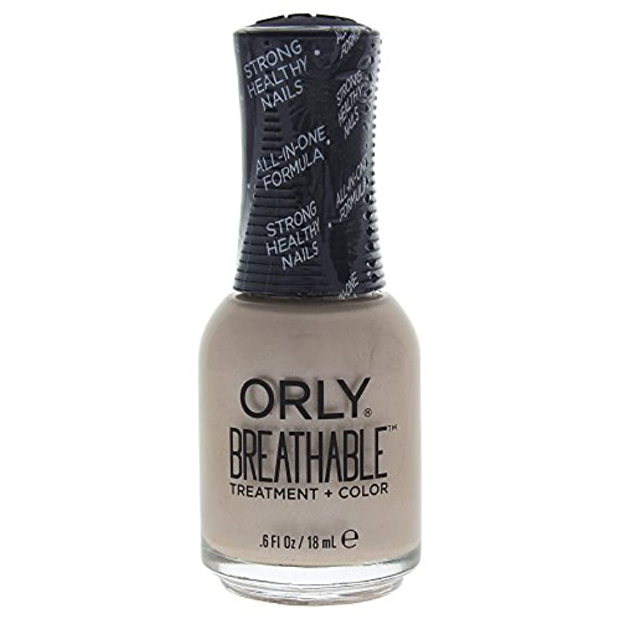 起こりやすい以来会計Orly Breathable Treatment + Color Nail Lacquer - Heaven Sent - 0.6oz / 18ml