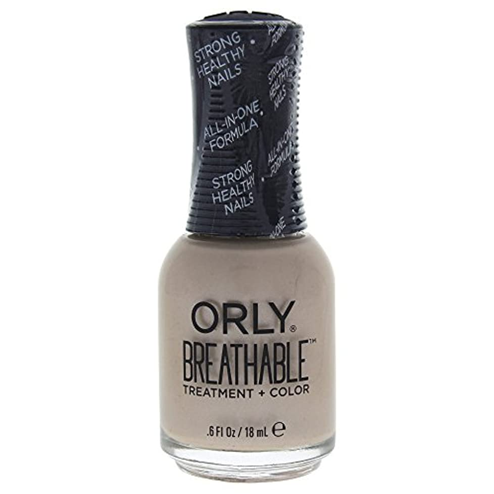 錆びマウス忌避剤Orly Breathable Treatment + Color Nail Lacquer - Heaven Sent - 0.6oz / 18ml