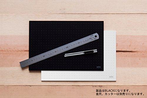 ミワックス カッティングマット 300x220mm ブラック MX-A4-B