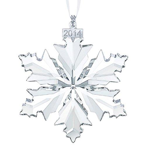 スワロフスキー SWAROVSKI クリスタル クリスマスオーナメント 2014年度限定品 5059026 「並行輸入品」