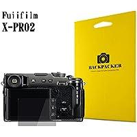 【BACKPACKER】 カメラ液晶保護ガラス 液晶プロテクター 0.33mm強化ガラス 9H硬度 高鮮明 (FUJIFILM X-Pro2用)