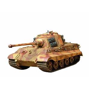 タミヤ 1/35 ミリタリーミニチュアシリーズ N0.164 ドイツ陸軍 重戦車 キングタイガー ヘンシェル砲塔 プラモデル 35164