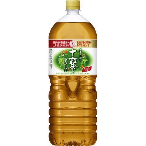 【ケース販売】アサヒ 十六茶 食事と一緒に十六茶W(ダブル) 2L×6本 健康食品 特定保健用食品(...