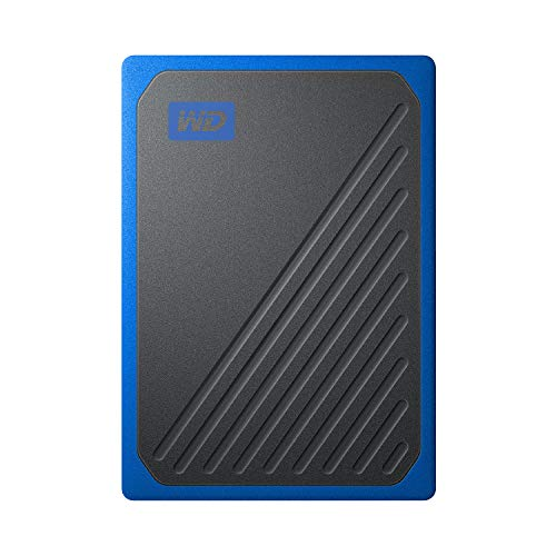 WESTERNDIGITAL (ウエスタンデジタル) SSD 外付 ポータブル 500GB My Passport Go ブルー WDBMCG5000ABT-WESN USB3.0 B07MVWJZVS 1枚目
