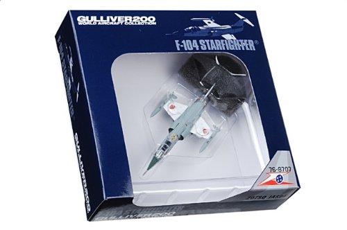 1:200 ガリバー World 飛行機 コレクション WA22078 三菱 F-104J スターファイター ダイキャスト モデル JASDF 207th 飛行隊 #76-8707 Naha AB 日