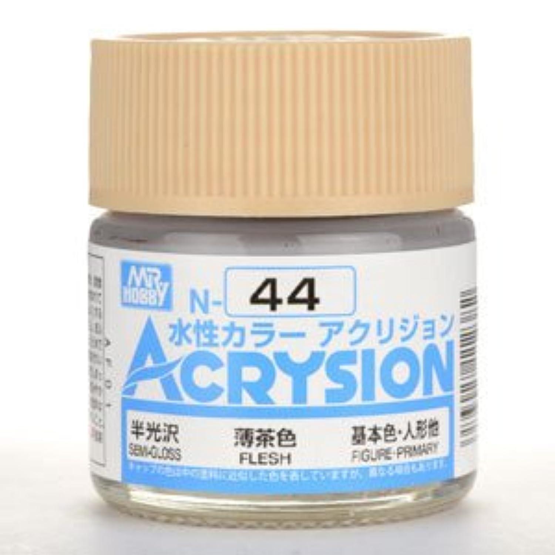 【水性アクリル樹脂塗料】新水性カラー アクリジョン 薄茶色 N44