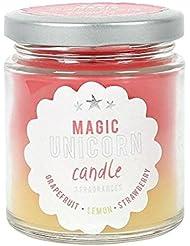 Magic Unicorn Rainbow Candle