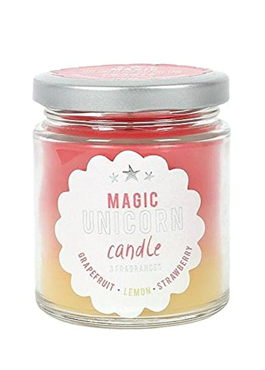 機会冷える持っているMagic Unicorn Rainbow Candle