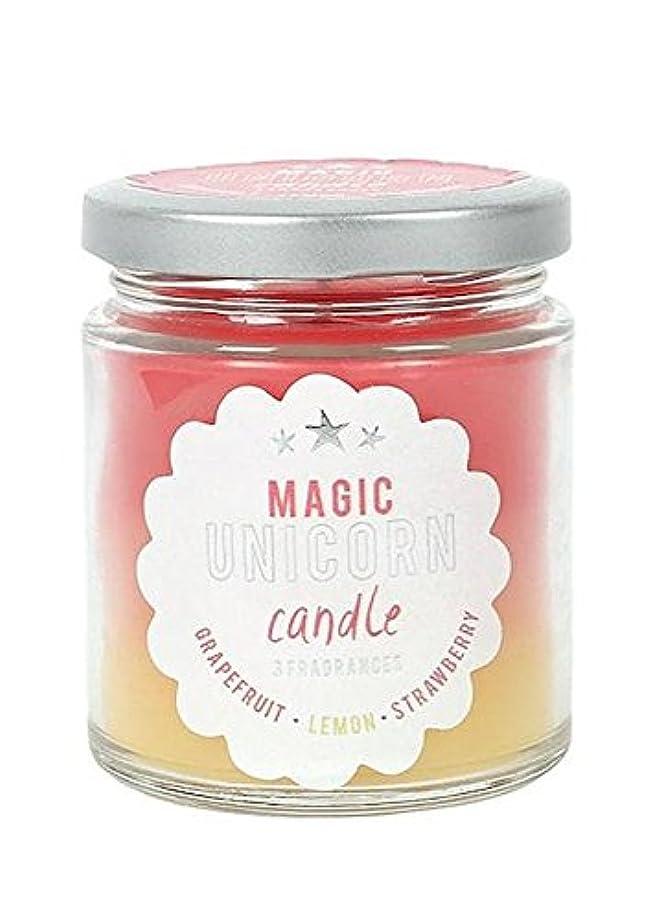 下品軍艦びっくりするMagic Unicorn Rainbow Candle