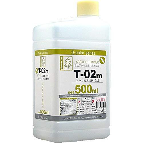G-colorシリーズ T-02m アクリル系溶剤 大 500ml 86044