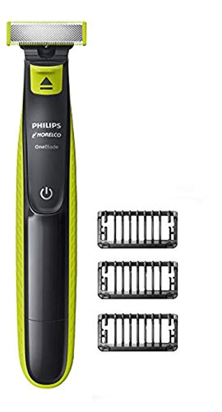 [(フィリップス) Philips ] [Norelco OneBlade hybrid electric trimmer and shaver, QP2520/70] (並行輸入品)