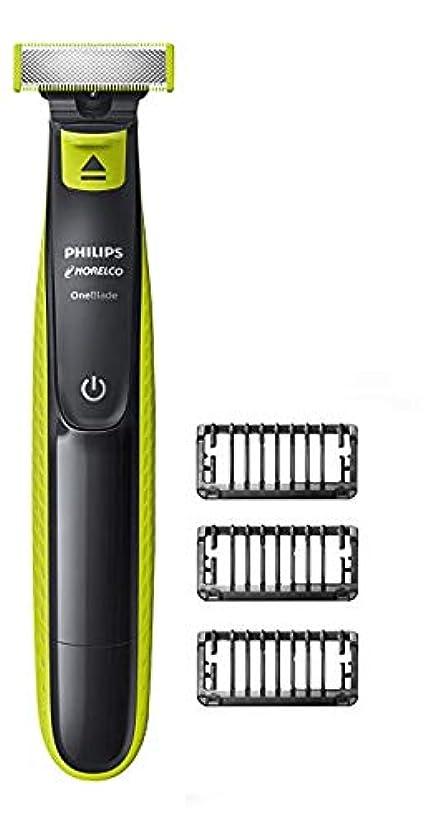 オーバーヘッド警告するプレビュー[(フィリップス) Philips ] [Norelco OneBlade hybrid electric trimmer and shaver, QP2520/70] (並行輸入品)