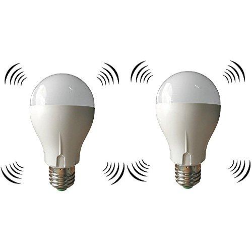2個セット LED電球 搭載レーダー探知機 E26口金 40...