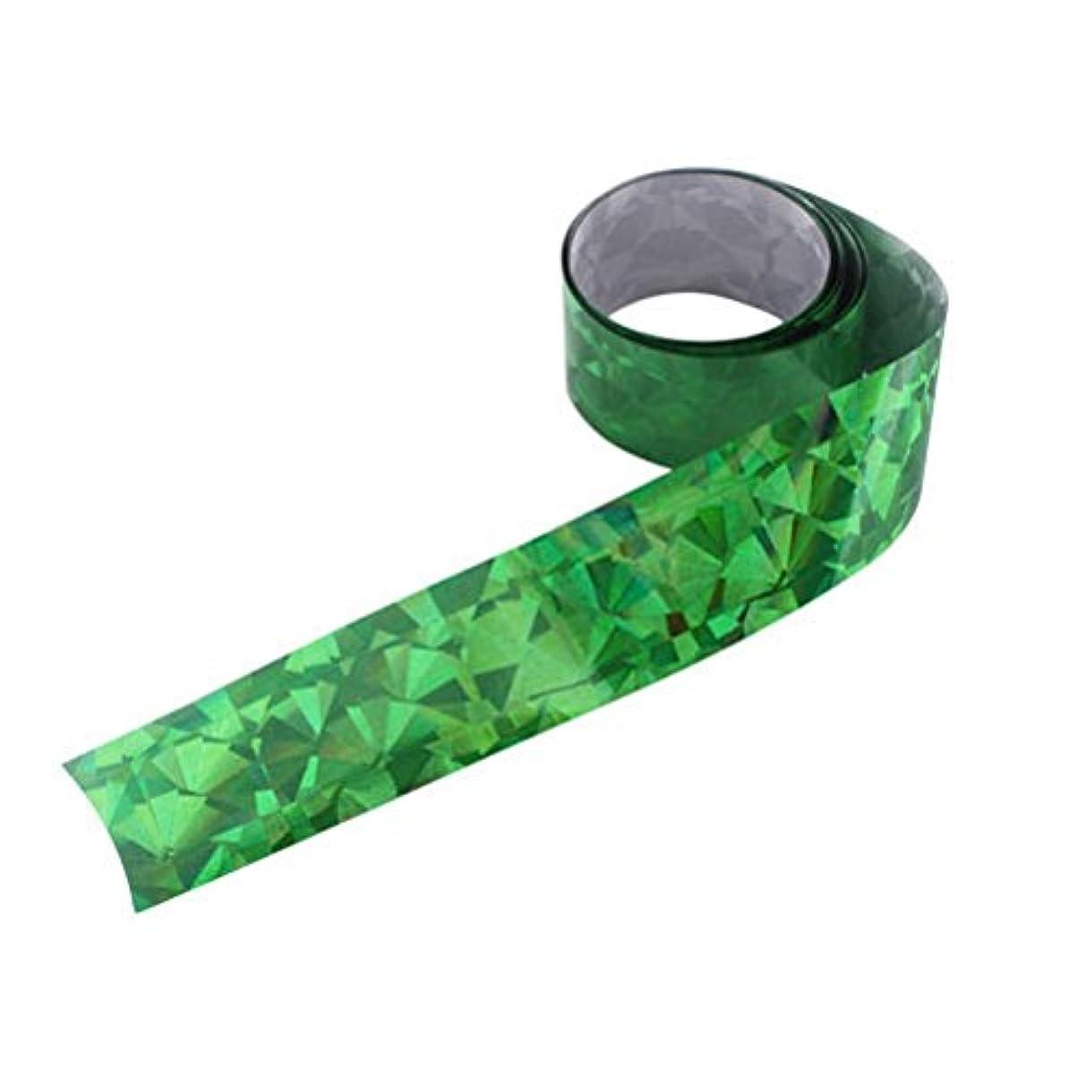 中間増幅円形アイスジェル ジェルネイル  オーロラシート(グラスグリーン)