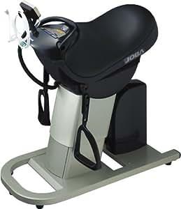 ナショナル(National) 乗馬フィットネス機器 ジョーバ 酸素エアチャージャー付 黒 EU6443-K