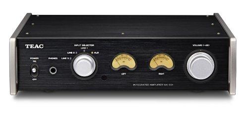 TEAC Reference 501 プリメインアンプ XLRバランス入力装備 ハイレゾ音源対応 ブラック AX-501-B