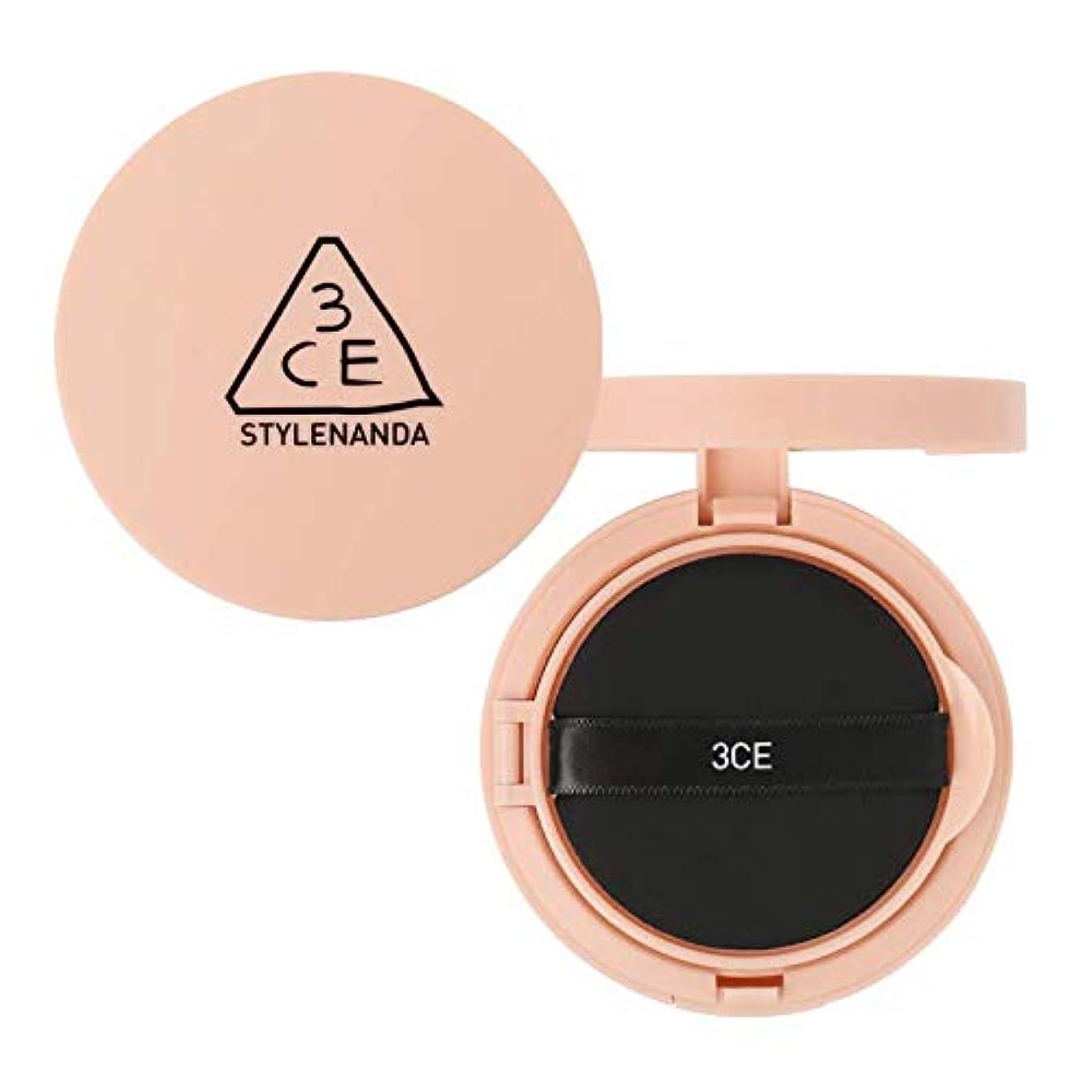 感心するなめらか甘味3CE グロー スキン クッション SPF50+ PA++++ / 3CE Glow Skin Cushion 15g [並行輸入品]