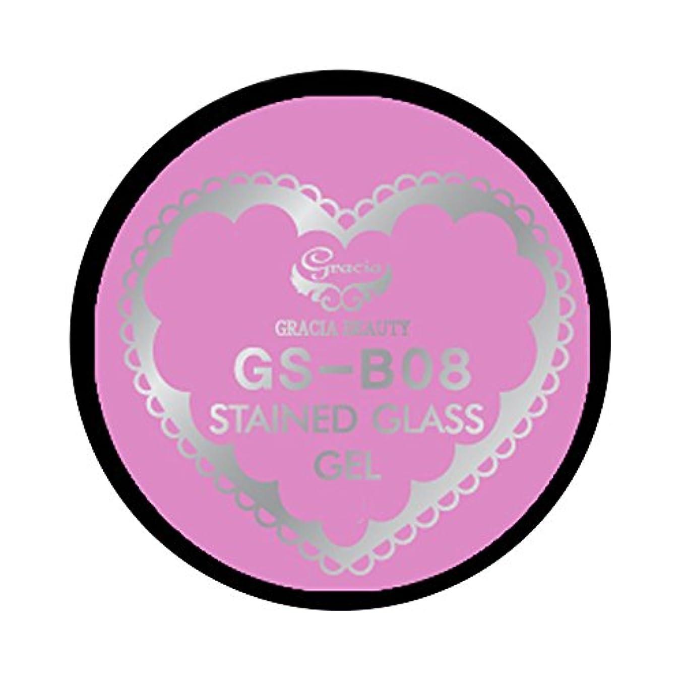 多年生値無実グラシア ジェルネイル ステンドグラスジェル GSM-B08 3g