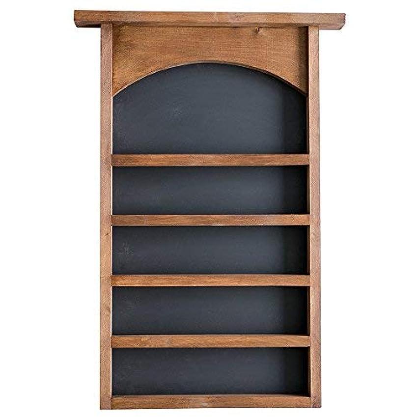 ランタン書士道に迷いましたEssential Oil表示シェルフと黒板Back |ソリッド木製|壁マウント| Modernファームハウス装飾| 30 x 18.5インチ