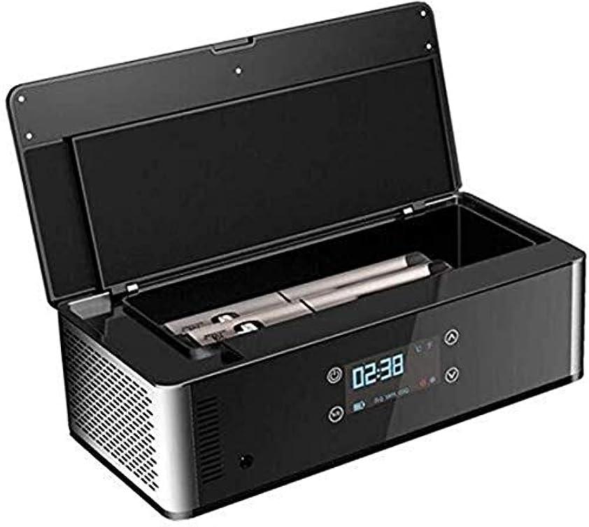 愛組み込む偶然16L 12V DC 220V AC cooling 遺体は、熱、インテリジェント一定の温度、ノンフロン冷凍クールおよび糖尿病のHD LEDディスプレイ医療薬によるインスリンカートリッジポータブル冷蔵庫冷凍庫冷蔵庫のインスリンは、水を貯蔵することができます一つの体には、漏れを防ぐために Small and can be put anywhere