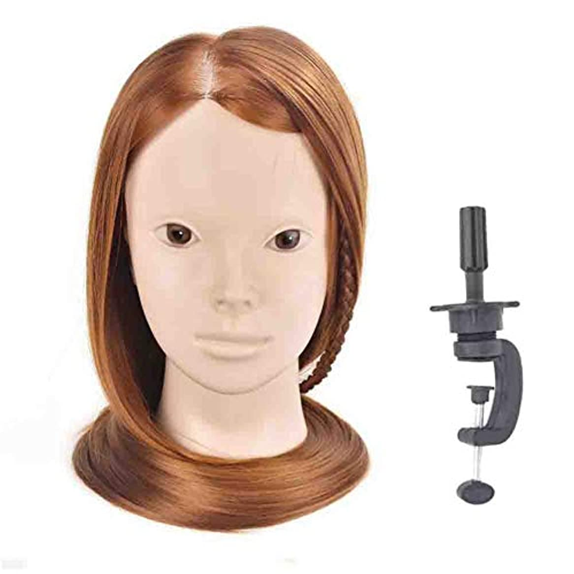 任命インチペストは、花嫁の髪編組ひも学習ヘッドモデル理髪モデルヘッド理髪サロン散髪ダミー練習ヘッド