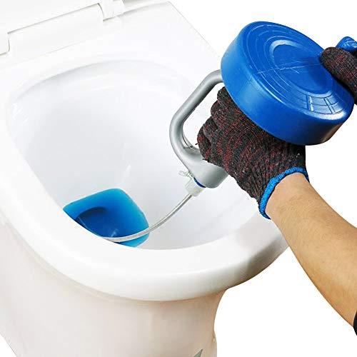 回転式 5m パイプ クリーナー ワイヤー 詰まり取り お風呂 トイレ 洗面所 排水口 下水 修理 解消 5m
