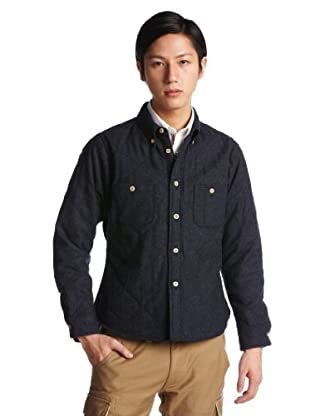 Homespun CPO Shirt 1211-173-4744: Navy