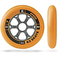 K2(ケーツー) インライン スペアウィール 2016 SPEED FORMULA 110mm 85A WHEEL 4PACK 4輪仕様インライン片足分 I1504022010 インラインスケート INLINE SKATE