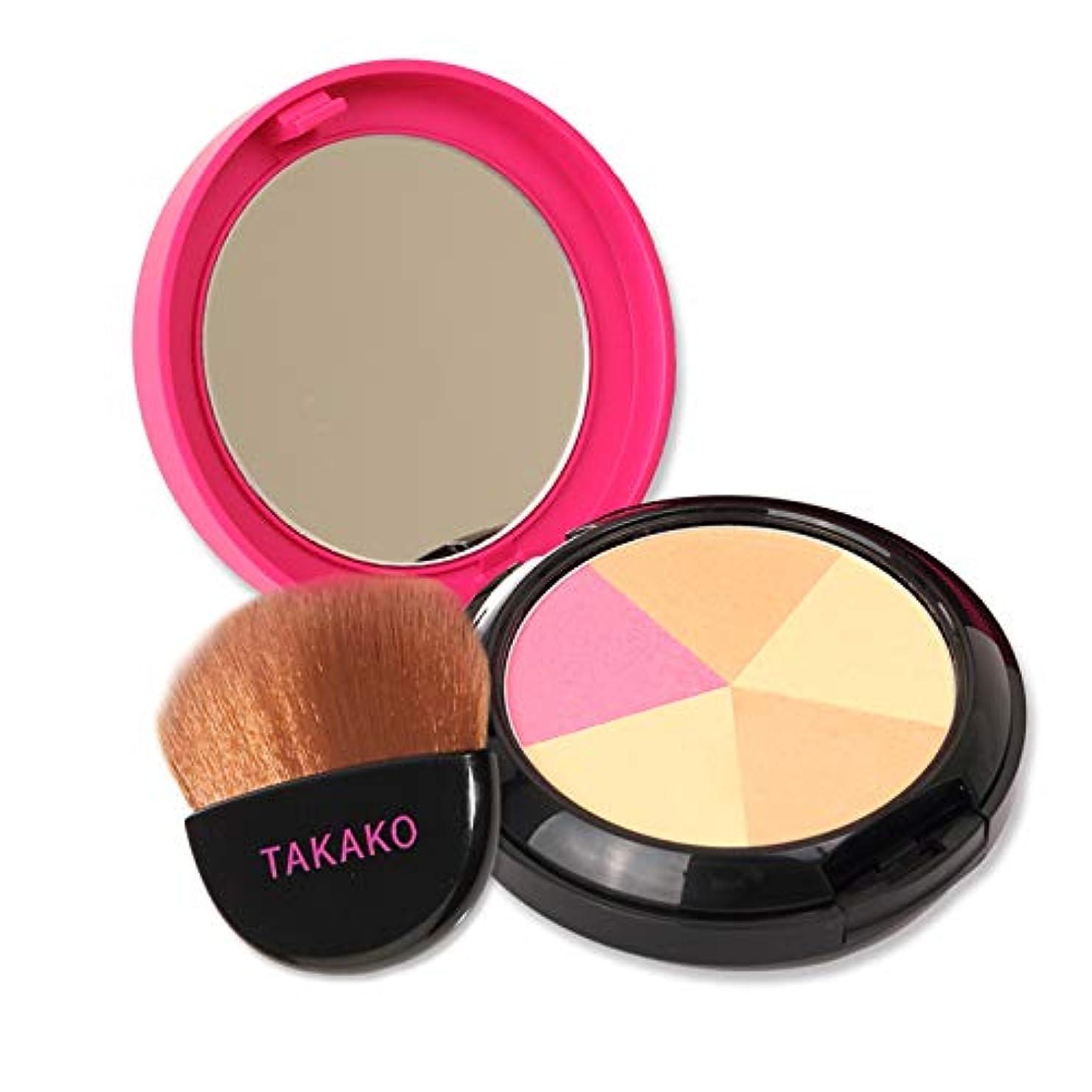 一節バックアップお父さんTAKAKO スターリングパウダー フェイスパウダー 厳選3色でツヤ肌 フェースパウダー プレストパウダー 12g TAKAKO Power of Beauty STARRING POWDER【タカコ コスメ】