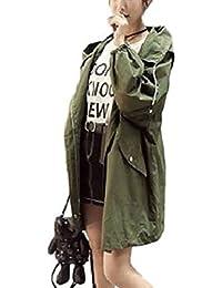 (ニブンノイチスタイル) 1/2style ロング ゆったり アーミー 可愛い 撥水 モッズ ジャケット コート レディース