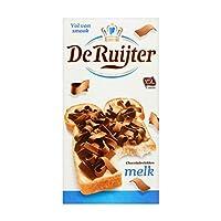 オランダミルクチョコレートフレーク | De Ruijter | チョコレートフレークミルク | 総重量 300 グラム