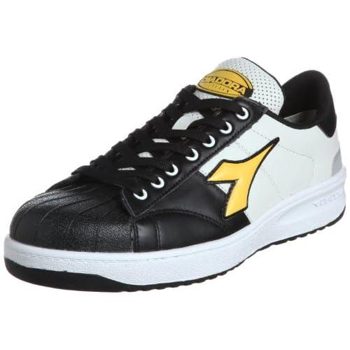 [ディアドラユーティリティ] DIADORA UTILITY 作業靴 スニーカー キーウィ KW251 KW251 ブラック&イエロー(ブラック&イエロー/26.5)
