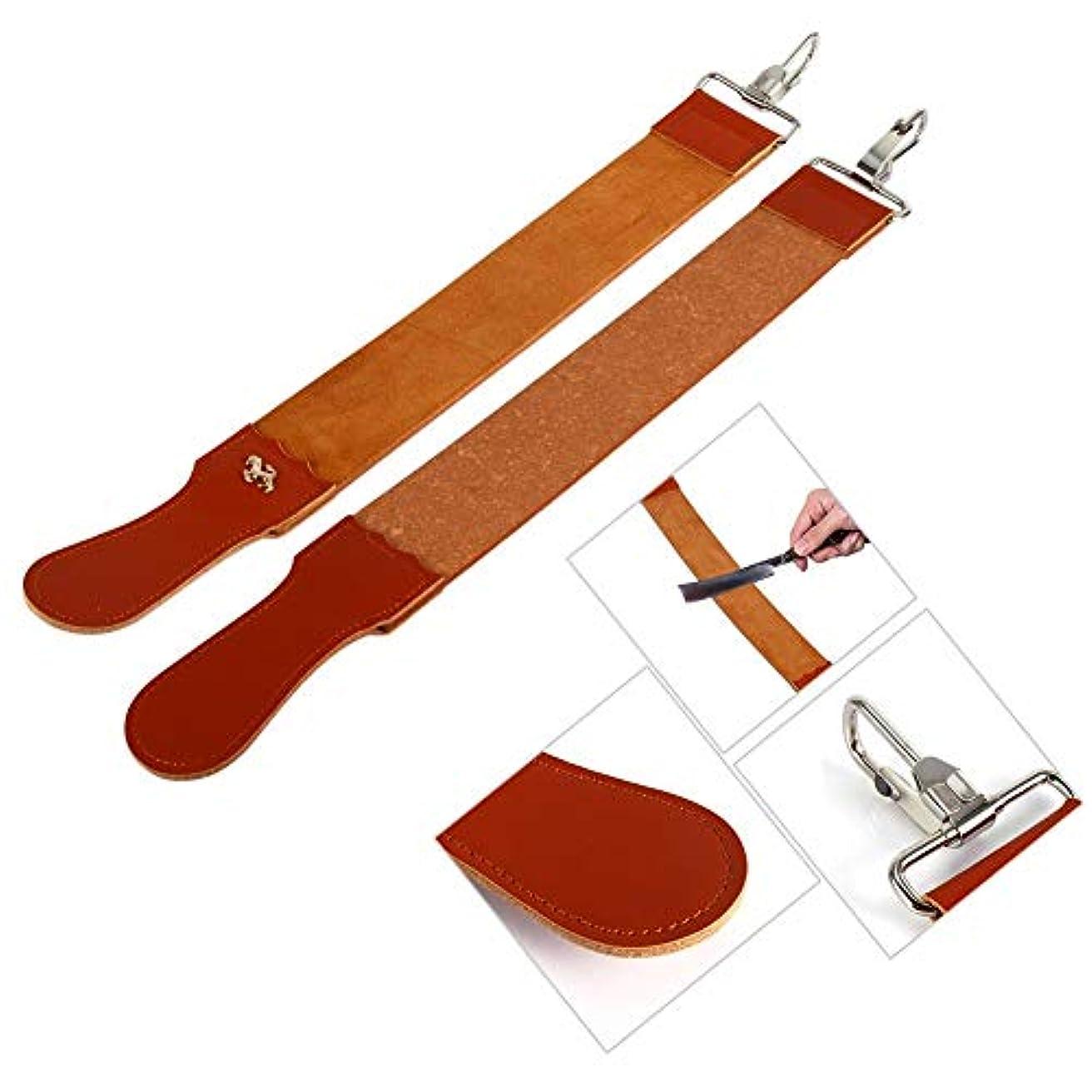 Qiilu 50.2×5.2cm 革砥 理容革砥 革砥ベルト 研磨 砥ぎ 床屋 理容室 家庭用 男性シェービング