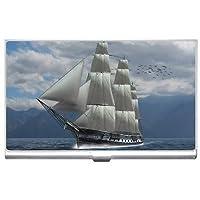新しいsailing-shipビジネスクレジットカードホルダーケース