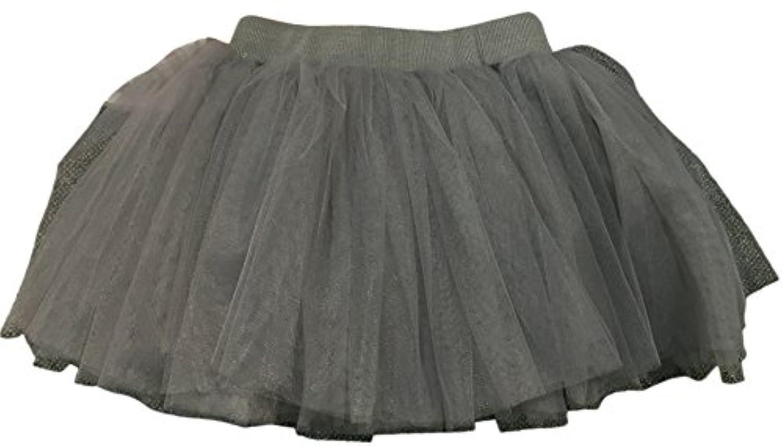 Plus Nao(プラスナオ) 子供用 チュチュ パニエ チュールスカート フレアスカート ウエストゴム ミニスカート ベビー キッズ バレエ 女の子
